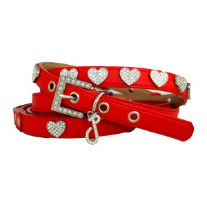 Fuzzy Love Dog Collar